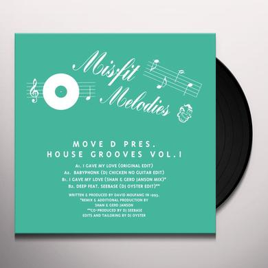 MOVE D PRESENTS HOUSE GROOVES 1 Vinyl Record