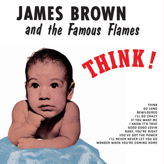 BROWN,JAMES & FAMOUS FLAMES THINK Vinyl Record