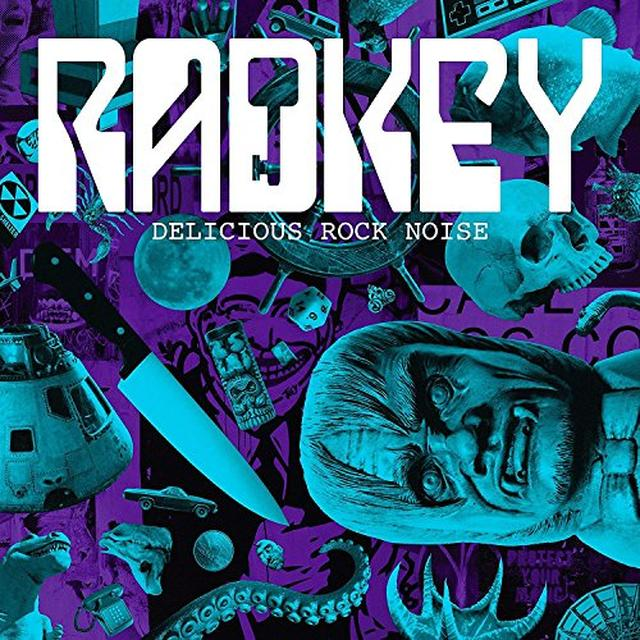 Radkey DELICIOUS ROCK NOISE  (SLIP) Vinyl Record - Limited Edition