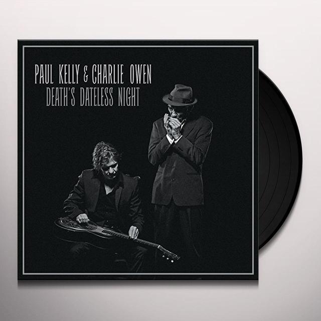 Paul Kelly DEATHS DATELESS NIGHT Vinyl Record
