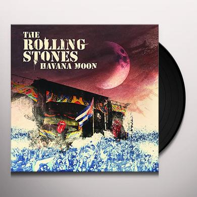 The Rolling Stones HAVANA MOON (W/DVD) Vinyl Record