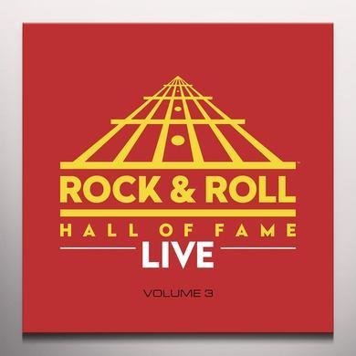 ROCK & ROLL HALL OF FAME 3 / VARIOUS (BLK) (BLUE) ROCK & ROLL HALL OF FAME 3 / VARIOUS Vinyl Record - Black Vinyl, Blue Vinyl