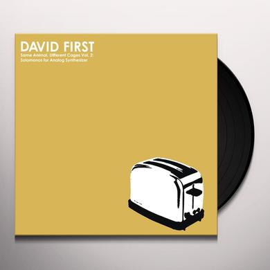 David First VOL. 2 SAME ANIMAL DIFFERENT CAGES: SOLOMONOS FOR Vinyl Record