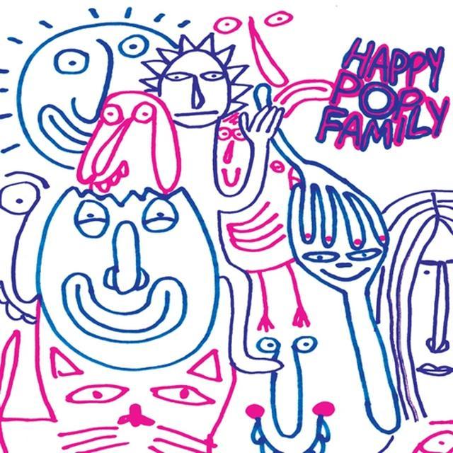 Monomyth HAPPY POP FAMILY Vinyl Record