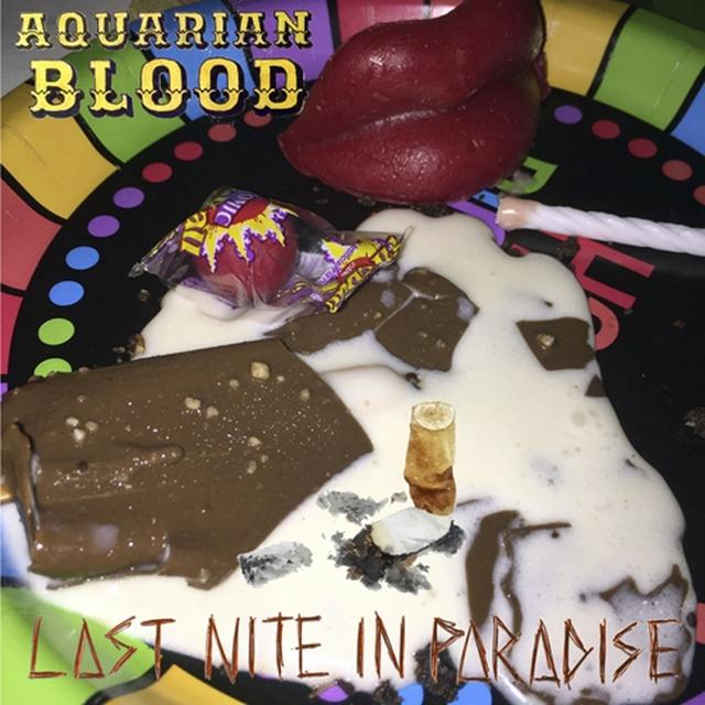 AQUARIAN BLOOD LAST NITE IN PARADISE Vinyl Record