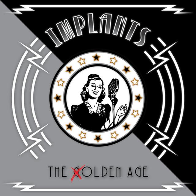 IMPLANTS OLDEN AGE (EP) Vinyl Record