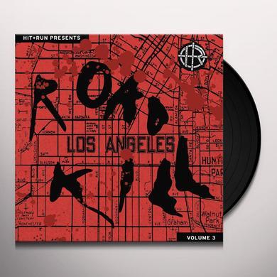HIT & RUN PRESENTS: ROAD KILL 3 / VARIOUS (BLK) HIT & RUN PRESENTS: ROAD KILL 3 / VARIOUS Vinyl Record - Black Vinyl