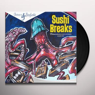 GRIME-N / STARFUNKLE SUSHI BREAKS Vinyl Record