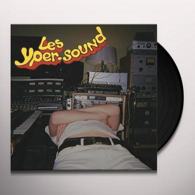 Les Yper Sound EXPLORATIONS IN DRUMS & SAX Vinyl Record