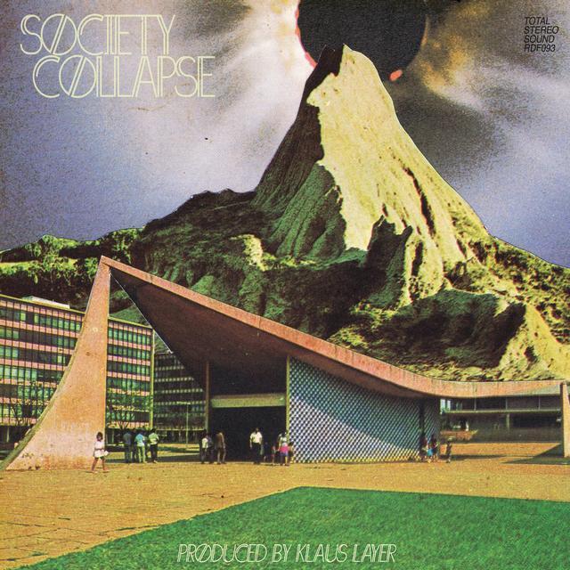 Klaus Layer SOCIETY COLLAPSE Vinyl Record