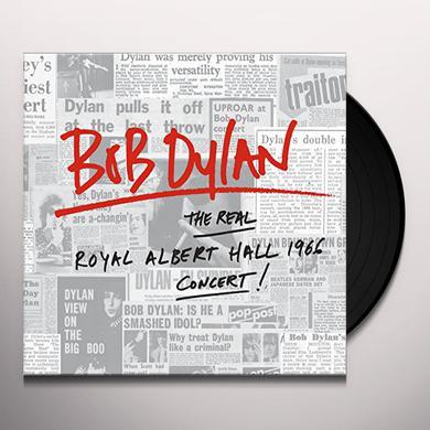 Bob Dylan REAL ROYAL ALBERT HALL 1966 CONCERT Vinyl Record