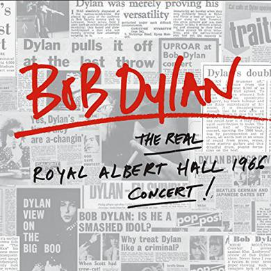 Bob Dylan REAL ROYAL ALBERT HALL 1966 CONCERT Vinyl Record