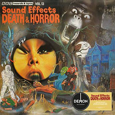 BBC SOUND EFFECTS 13: DEATH & HORROR / VARIOUS Vinyl Record