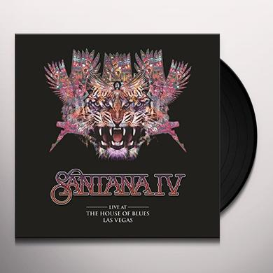 SANTANA IV LIVE AT THE HOUSE OF BLUES LAS VEGAS Vinyl Record