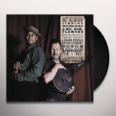 Martin Simpson / Dom Flemons SELECTION OF EVER POPULAR FAVOURITES Vinyl Record - UK Import