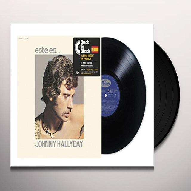 ESTE ES JOHNNY HALLYDAY Vinyl Record - Canada Import