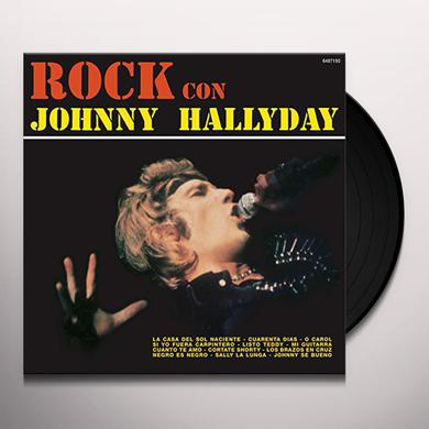 ROCK CON JOHNNY HALLYDAY Vinyl Record