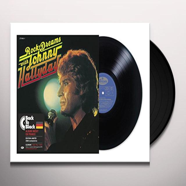 ROCK DREAMS WITH JOHNNY HALLYDAY Vinyl Record - Canada Import