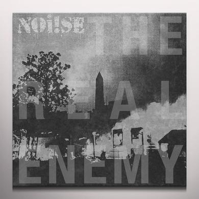 Noi!se REAL ENEMY Vinyl Record - White Vinyl, Digital Download Included