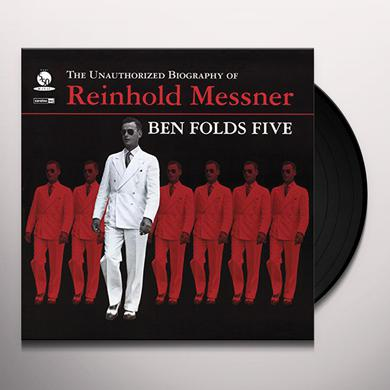 Ben Folds Five UNAUTHORIZED BIOGRAPHY OF REINHOLD MESSNER Vinyl Record - Gatefold Sleeve