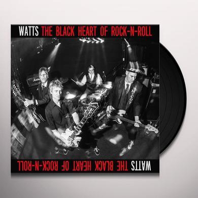 Watts BLACK HEART OF ROCK N ROLL Vinyl Record