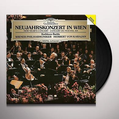 BATTLE / KARAJAN / BERLINER PHILHARMONIKER NEW YEAR'S CONCERT IN VIENNA (1987) Vinyl Record