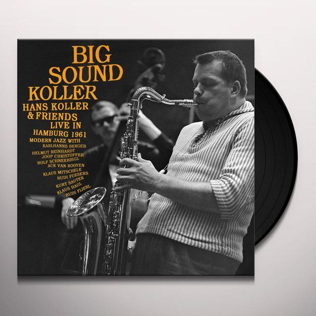 Hans Koller BIG SOUND KOLLER Vinyl Record