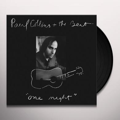 Paul Collins' Beat ONE NIGHT Vinyl Record - Limited Edition