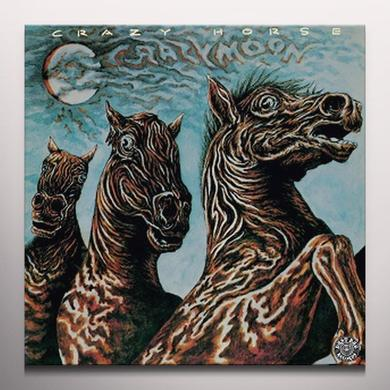 Crazy Horse CRAZY MOON Vinyl Record - Black Vinyl, Blue Vinyl, Limited Edition, 180 Gram Pressing