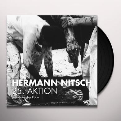 Hermann Nitsch 25. AKTION (WIEDERAUFGEFUHRT) Vinyl Record