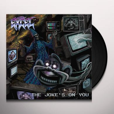 EXCEL JOKE'S ON YOU Vinyl Record - Gatefold Sleeve
