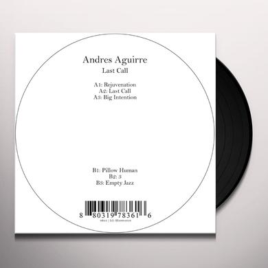 Andres Aguirre LAST CALL Vinyl Record