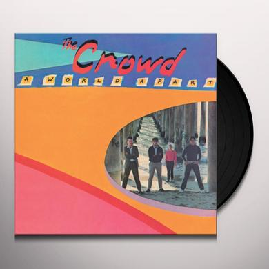 CROWD WORLD APART Vinyl Record