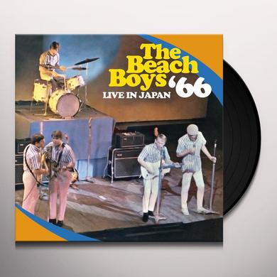 The Beach Boys LIVE IN JAPAN 66 Vinyl Record