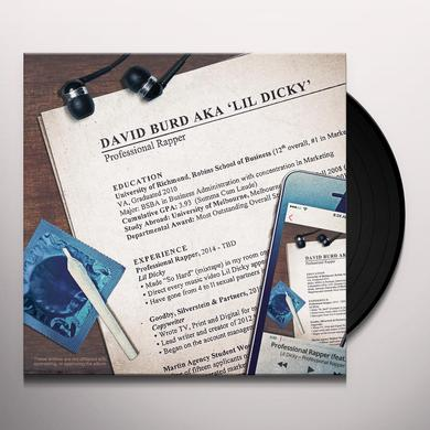 Lil Dicky PROFESSIONAL RAPPER Vinyl Record