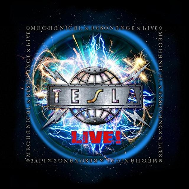 Tesla MECHANICAL RESONANCE LIVE Vinyl Record