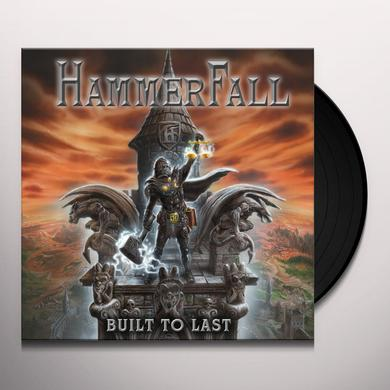 Hammerfall BUILT TO LAST Vinyl Record