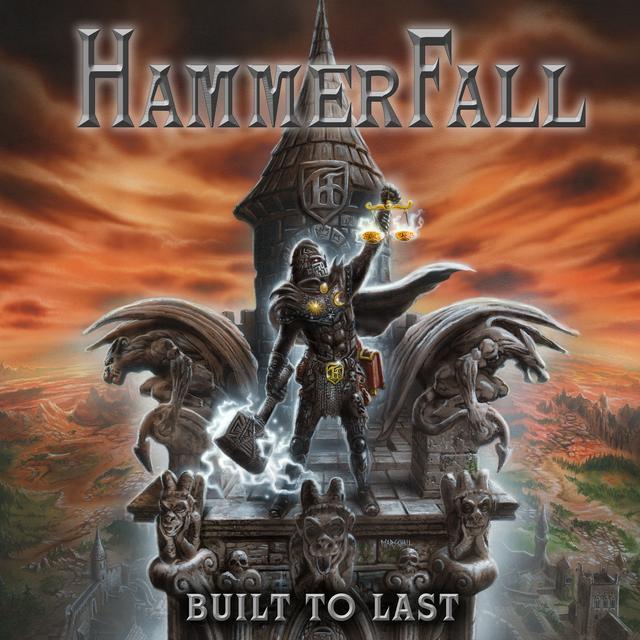 Hammerfall BUILT TO LAST Vinyl Record