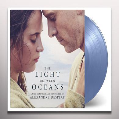 Alexandre Desplat LIGHT BETWEEN OCEANS / O.S.T. Vinyl Record - Blue Vinyl, Gatefold Sleeve, Limited Edition