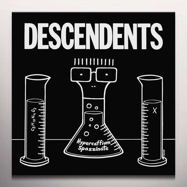 Descendents HYPERCAFFIUM SPAZZINATE Vinyl Record - Clear Vinyl, Digital Download Included