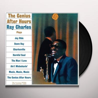 Ray Charles GENIUS AFTER HOURS Vinyl Record - 180 Gram Pressing