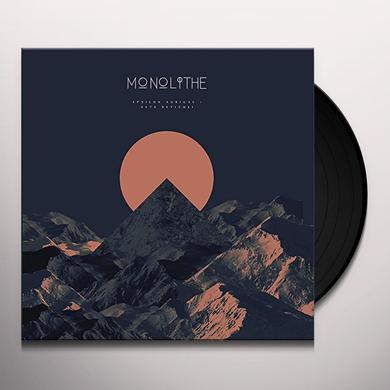 Monolithe EPSILON AURIGAE / ZETA RETICULI Vinyl Record