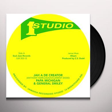 Papa Michigan & General Smiley JAH A DE CREATOR / REBEL DISCO Vinyl Record