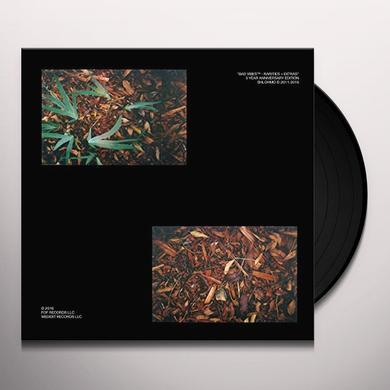 Shlohmo BAD VIBES (RARITIES AND EXTRAS) Vinyl Record