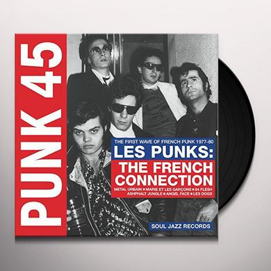 Soul Jazz Records Presents PUNK 45: LES PUNKS: FRENCH CONNECTION Vinyl Record