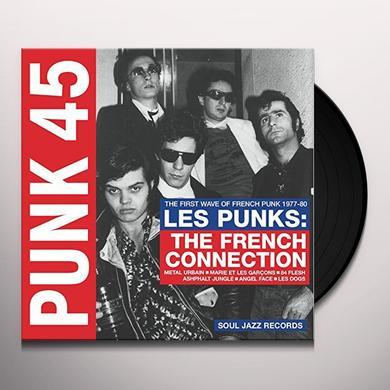 Soul Jazz Records Presents PUNK 45: LES PUNKS: FRENCH CONNECTION Vinyl Record