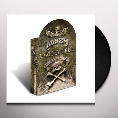 Motley Crue END  (W/DVD) (BOX) (GTRP) (HCVR) (LAM) Vinyl Record - w/CD