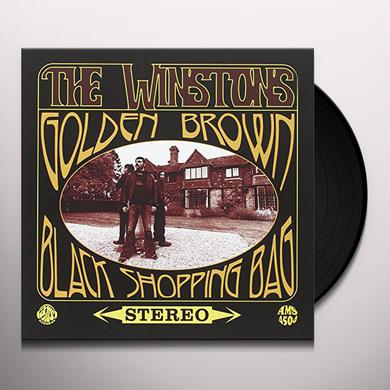 Winstons GOLDEN BROWN / BLACK SHOPPING BAG (GOLD VINYL) Vinyl Record