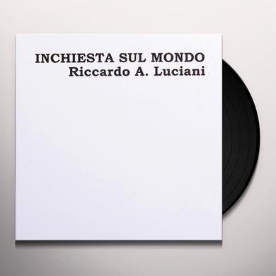 Riccardo A Luciani INCHIESTA SUL MONDO Vinyl Record - Italy Release