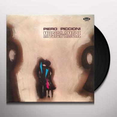 Piero Piccioni MUSICA AMORE / O.S.T. Vinyl Record - Italy Import